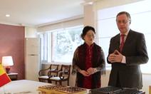 Đại sứ Bỉ tại Hàn Quốc mất chức vì vợ tát nhân viên bán hàng