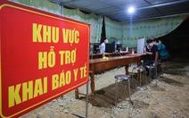 Trắng đêm ở chốt kiểm dịch cửa ngõ phía bắc Thừa Thiên Huế