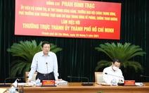 Ban Nội chính T.Ư yêu cầu đẩy nhanh xử lý các vụ việc lớn tại TP.HCM ở Thủ Thiêm, Tân Thuận, SAGRI