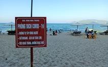 Khánh Hòa lập nhiều tổ kiểm tra, dựng barie bãi biển phòng chống COVID-19