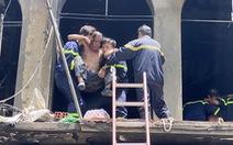 TP.HCM: Tạm giữ một số người vụ cháy nhà ở đường Trần Hưng Đạo làm 1 người chết