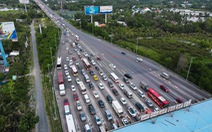 Thống nhất phương án xả trạm khi cao tốc TP.HCM - Long Thành - Dầu Giây kẹt xe kéo dài