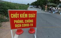 Quận Gò Vấp lập 9 chốt kiểm soát từ 0h ngày 31-5