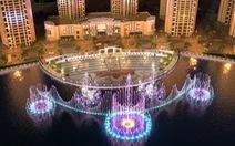 Van Phuc Group đẩy mạnh tiến độ thi công công trình Nhạc Nước trăm tỉ