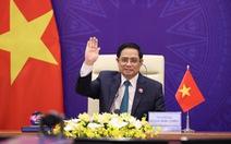 Thủ tướng Việt Nam nêu vấn đề vắc xin cấp bách tại hội nghị quốc tế