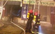 Công an nhận định chập điện gây cháy nhà làm chết 2 người ở Q.3