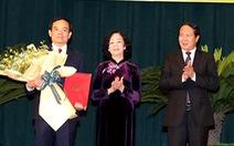 Ông Trần Lưu Quang làm Bí thư Thành ủy Hải Phòng