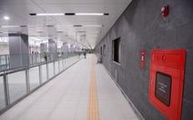 Ngắm diện mạo tầng B1 ga Ba Son của metro số 1