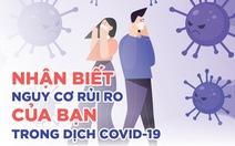 Đi những nơi nào dễ có nguy cơ bị lây COVID-19?