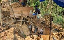 Nam thanh niên bị đá đè tử vong tại bãi vàng Bồng Miêu