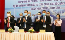 Nhà đầu tư cam kết làm cao tốc Nha Trang - Cam Lâm tốt nhất để không phụ lòng tin
