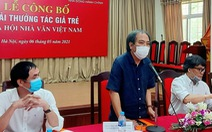 Ông Nguyễn Quang Thiều: 'Quyết tâm bảo vệ những giá trị mà chúng tôi trao giải'