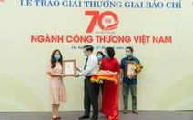 'Cơ hội cuối cùng cho công nghiệp ôtô Việt Nam?' đoạt giải A giải báo chí 70 năm ngành công thương