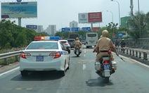 Bệnh viện cảm ơn cảnh sát giao thông phối hợp mở đường mang 'sự sống' cho 2 bệnh nhân