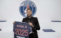Gia hạn hợp đồng với PSG, Neymar tuyên bố sẽ vô địch Champions League