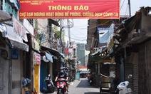 Chợ Phú Nhuận lại ngưng hoạt động, lấy mẫu xét nghiệm hơn 1.000 người