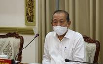 Phó thủ tướng Trương Hòa Bình: TP.HCM phải quyết tâm dập dịch trong 2 tuần