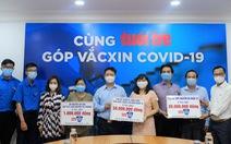 Cả xã hội cùng góp sức cho quỹ vắc xin
