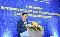 Việt Nam tổ chức hội thảo bàn về 'hiến pháp' của đại dương