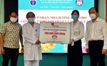 Tặng 500 giường bệnh, 'tiếp sức' cho hai bệnh viện điều trị COVID-19 ở TP.HCM