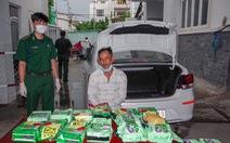 Bắt đối tượng chuyển 20kg ma túy từ Đồng Tháp lên TP.HCM
