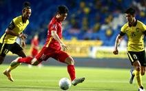 Việt Nam - Malaysia (hiệp 1) 1-0: Tiến Linh mở tỉ số