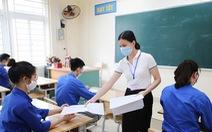 Sáng nay 12-6: 93.000 thí sinh Hà Nội dự kỳ thi vào lớp 10