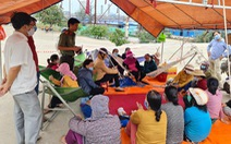 Chịu không nổi ô nhiễm, người dân chặn Khu liên hợp sản xuất gang thép Hòa Phát Dung Quất