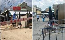 Bà bán thịt heo nghi mắc COVID-19, chợ Ba Dừa bị phong tỏa