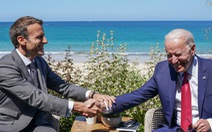 Tổng thống Pháp ca ngợi 'Mỹ đã trở lại' dưới thời Biden