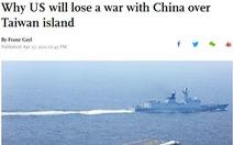 Thiếu tá Mỹ về hưu bị điều tra phản gián vì 2 bài viết trên báo Trung Quốc