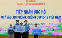 Công ty TNHH Phân Phối Tiên Tiến ủng hộ 500 triệu đồng Quỹ vaccine phòng chống COVID-19