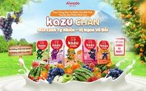 Aiwado ra mắt sữa trái cây và sữa chua uống Kazu Chan