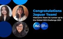 Việt Nam giành ngôi Á Quân cuộc thi P&G CEO Challenge 2021