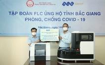 Tập đoàn FLC tặng Bắc Giang ba hệ thống xét nghiệm COVID-19