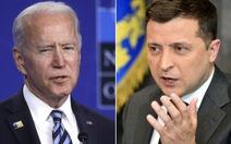 Ông Biden nói Ukraine chưa đủ tiêu chuẩn gia nhập NATO