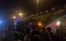 Xe quân đội gặp nạn, hai người bị thương nặng