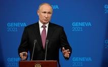 Ông Putin họp báo trước, ngay sau cuộc gặp thượng đỉnh Mỹ - Nga
