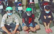 Hàng chục thanh thiếu niên ở Vĩnh Long tổ chức đua xe