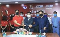Thầy trò HLV Park Hang Seo có thêm nhà tài trợ