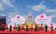 Khánh thành cụm công trình lưu niệm hành trình cứu nước của Thủ tướng Campuchia Hun Sen