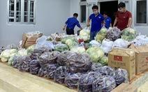 Lâm Đồng chuyển 55 tấn nông sản Đà Lạt ủng hộ bà con TP.HCM chống dịch