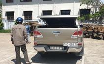 Thót tim cảnh lực lượng kiểm lâm rượt đuổi ôtô chở gỗ lậu suốt quãng đường 100km