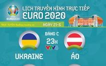 Lịch thi đấu Euro 2020: Ukraine - Áo, Bắc Macedonia - Hà Lan, Nga - Đan Mạch, Phần Lan - Bỉ