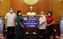 Karo phát động chương trình ủng hộ quỹ Vaccine phòng chống COVID-19