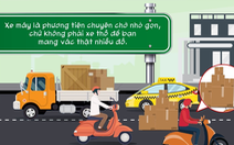 Điểm danh những hành vi kém văn minh giao thông người đi xe máy thường mắc phải