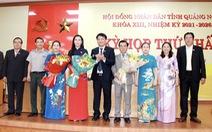 Bà Bùi Thị Quỳnh Vân tái đắc cử chủ tịch HĐND tỉnh Quảng Ngãi