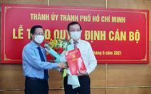 Ông Lê Hồng Sơn làm phó trưởng Ban Tuyên giáo Thành ủy TP.HCM