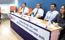 Đại học Văn Lang tiếp tục tổ chức đa dạng hình thức thi tuyển sinh năng khiếu 2021