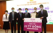 Tập đoàn AEON trao 25 tỉ đồng đóng góp vào quỹ vắc-xin phòng chống COVID-19 của Việt Nam